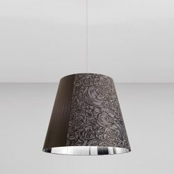 Melting Pot SP 80 dark patterns with silver inside | Allgemeinbeleuchtung | Axo Light