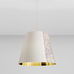 Melting Pot SP 80 light patterns with gold inside | General lighting | Axo Light