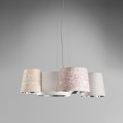 Melting Pot SP 115 light patterns with silver inside | Allgemeinbeleuchtung | Axo Light