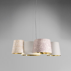 Melting Pot SP 115 light patterns with gold inside | Allgemeinbeleuchtung | Axo Light
