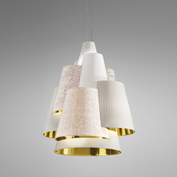 Melting Pot SP 120 light patterns with gold inside | Allgemeinbeleuchtung | Axo Light