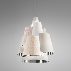 Melting Pot SP 120 light patterns with silver inside | Allgemeinbeleuchtung | Axo Light