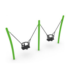 Swing | Double Lillie | Playground equipment | Hags