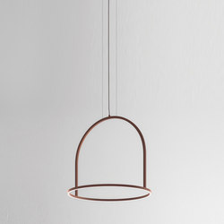 U-Light SP 90 corten | Pendelleuchten | Axolight