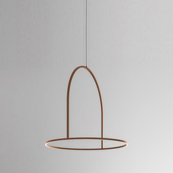 U-Light SP 120 corten | Suspended lights | Axolight