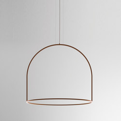 U-Light SP 160 corten | Suspended lights | Axolight