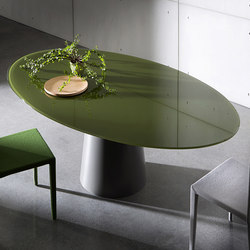 Totem Elliptical | Dining tables | Sovet