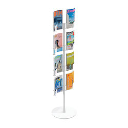 Wing magazine holder | Brochure / Magazine display stands | Materia