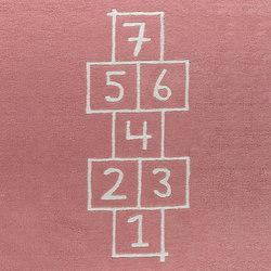 Kids Family Hopscotch pink | Rugs | Kateha