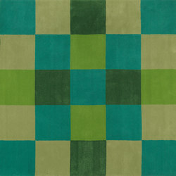 Piazza green | Rugs | Kateha
