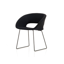 Conch | Visitors chairs / Side chairs | PORRO