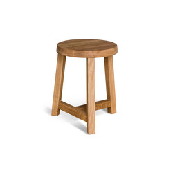 Lonna stool | Oak | Hocker | Made by Choice