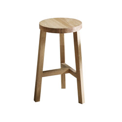 Lonna bar stool | Oak | Sgabelli bar | Made by Choice