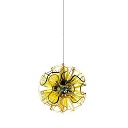 Coral Ball Suspension | Yellow | Suspensions | QisDesign