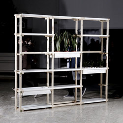 Sticks & Corners | Shelf large | Büroregalsysteme | Made by Choice