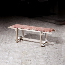 Sticks & Corners | Bench small | Waiting area benches | Made by Choice