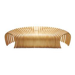 Ribs Bench | Garden benches | DesignByThem