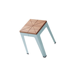 Timber Tuck Stool | Garden stools | DesignByThem