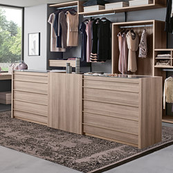 Atollo | Freestanding drawer | Clothes sideboards | Presotto