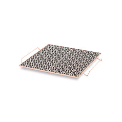 Mix & Match Tray 40x40 Black & White 3 | Trays | GAN