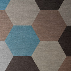 Figura - Hexagon | Carpet tiles | ege