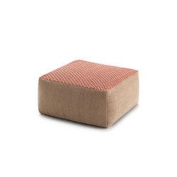 Raw Small Pouf Pink 7 | Poufs | GAN