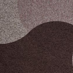 Figura - Curve | Quadrotte / Tessili modulari | ege