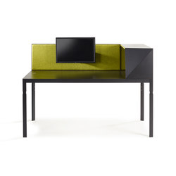 Trigon Workplace System | Individual desks | Lande
