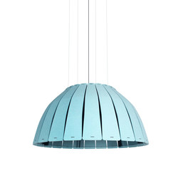 Birdcage | Pendant Light Blue | Pendelleuchten | Luxxbox