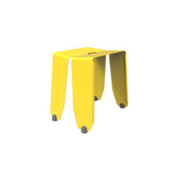 Brainwash | Stool Lemon Yellow | Poufs | Luxxbox