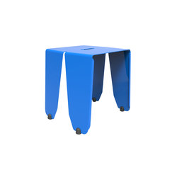 Brainwash | Café Table Blue Bob | Tavolini alti | Luxxbox