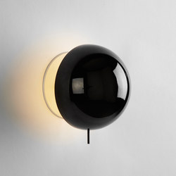Eclipse Sconce (Black chrome) | Wall lights | Roll & Hill