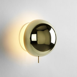 Eclipse polished brass | Wandleuchten | Roll & Hill
