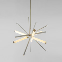 Mini Farrago pendant 01 polished brass / gray | Iluminación general | Roll & Hill