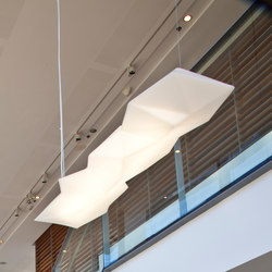 Fractal Cloud | Pendant | Suspended lights | Luxxbox