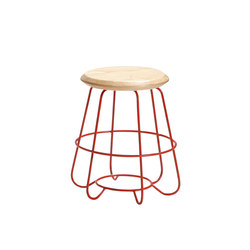Hoop | Low Stool | Sgabelli imbottiti | Luxxbox