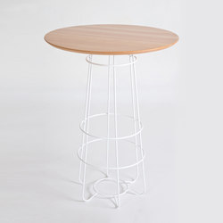Hoop | Dry Bar Table | Mesas altas | Luxxbox