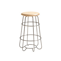 Hoop | Counter Stool | Sgabelli bancone | Luxxbox