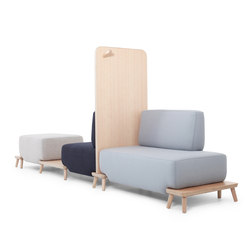 Podia | Modular seating systems | Luxxbox