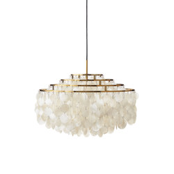 Fun Mother of Pearl 10DM | Pendant Brass | Illuminazione generale | Verpan