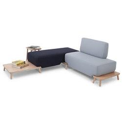 Podia | Sistemi di sedute componibili | Luxxbox