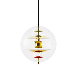 VP Globe Glass | Pendant Brass | Illuminazione generale | Verpan