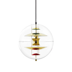 VP Globe | Brass - Pendant | Suspended lights | Verpan