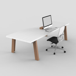 Slab | Table | Individual desks | Luxxbox