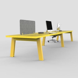 Slab | Table | Desking systems | Luxxbox