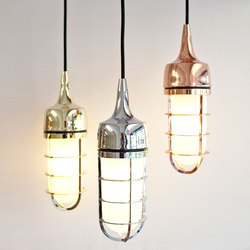 Watch Out | Pendant Metallic | Suspended lights | Luxxbox