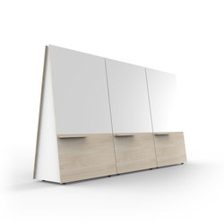 Wedge | Tableaux blanc | Luxxbox