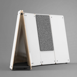 Wedge | Thought Board | Tableaux blanc | Luxxbox
