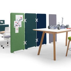 Winea X | Standing panel | Office Pods | WINI Büromöbel