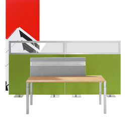 Winea Sinus | Freestanding Panels | Privacy screen | WINI Büromöbel